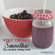 Holiday Drink: Very Cherry Smoothie