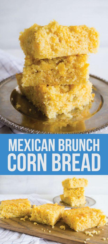 Mexican Brunch Corn Bread - the best corn bread you'll ever ever have! www.thirtyhandmadedays.com