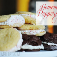 Sweets Version Gift: Homemade Peppermint Oreos