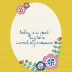 Be awesome quote