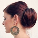 Hair Tutorial: Low Chignon with Poof