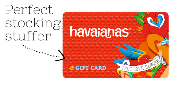 Havaianas gift card