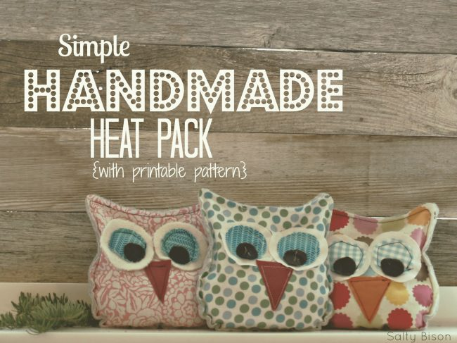 Sweet Stocking Stuffer Handmade Owl Heat Pack