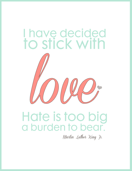 Beautiful Mlk Quote On Love And Hate