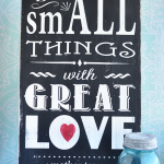 My most favorite Valentines sign & how you can win one too!
