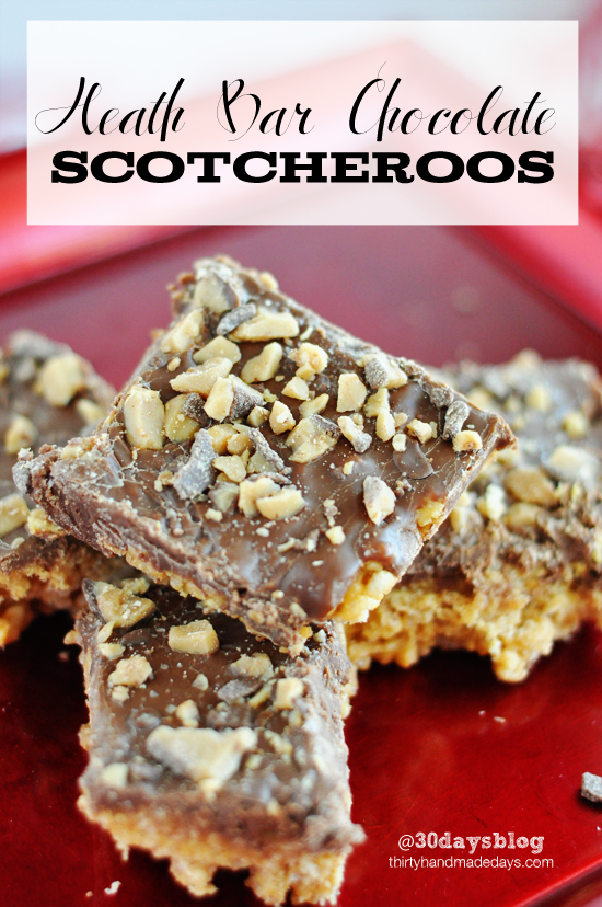 Heath Bar Chocoalte Dessert Recipe