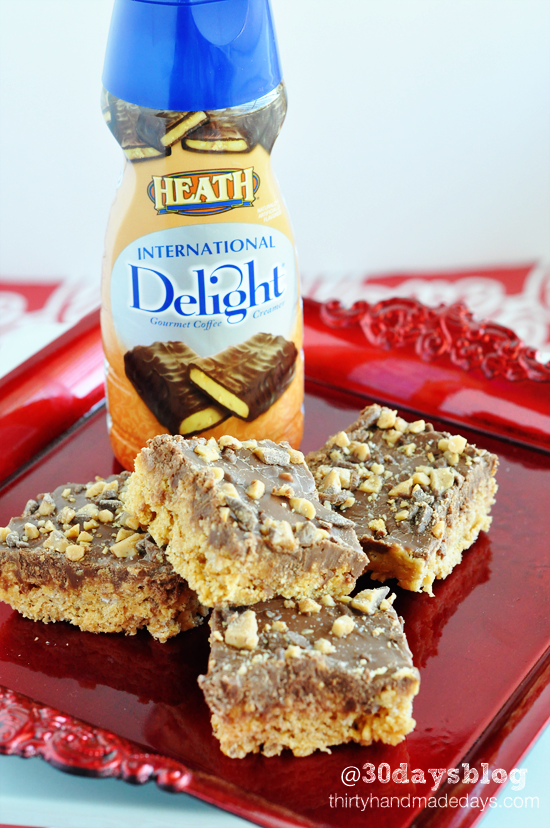 Heath Bar Chocolate Scotcheroos Dessert