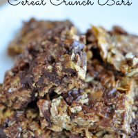 Cereal Crunch Bars from www.thirtyhandmadedays.com