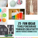 25 Fun Craft Ideas for Kids - a little something for everyone to spark creativity.