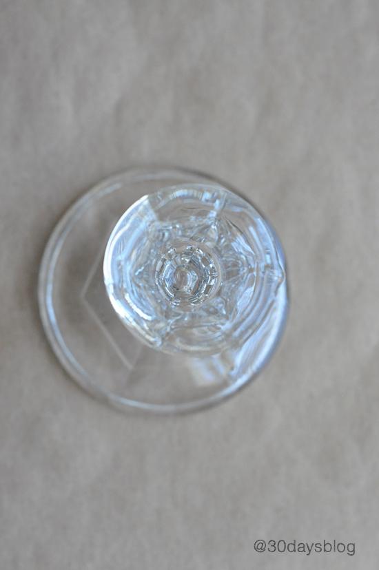 mason jar glass step 1