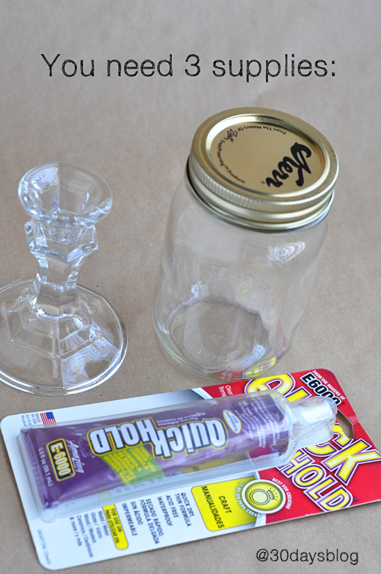 mason jar supplies