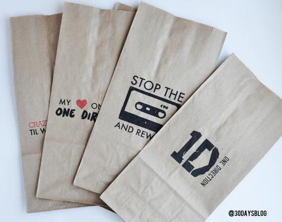 One Direction Bags www.thirtyhandmadedays.com