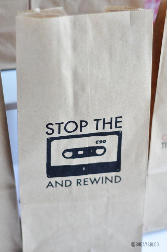 One Direction- Stop the Tape Bag www.thirtyhandmadedays.com