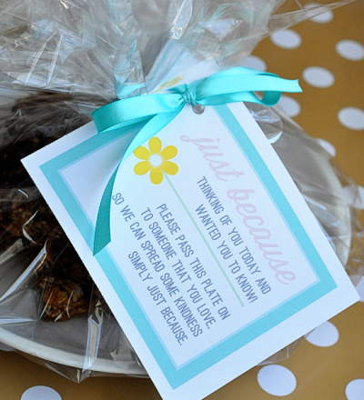 Random Acts of Kindness Just Because Printable