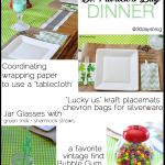 St. Patrick's Day Dinner from www.thirtyhandmadedays.com