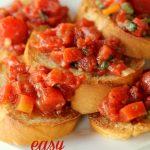 Easy Homemade Bruschetta