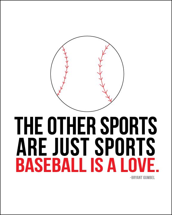 Baseball is love www.thirtyhandmadedays.com