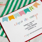 Cinco de Mayo Invites from lemon shop