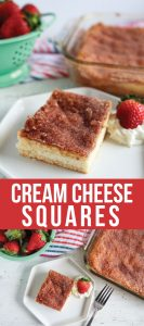 Food: Super Simple Cream Cheese Squares - ridiculously easy to make and oh so good!