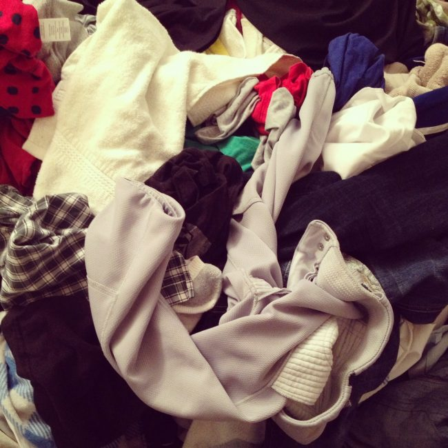 laundry that never ends