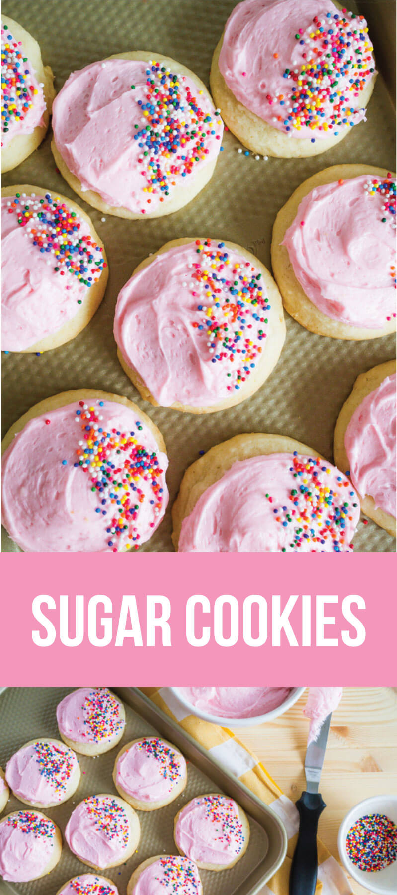 Sugar Cookies - a recipe that you have to try asap!  www.thirtyhandmadedays.com