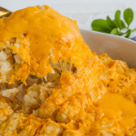 Easy dinner recipes for family - this tatertot casserole will become a family favorite!