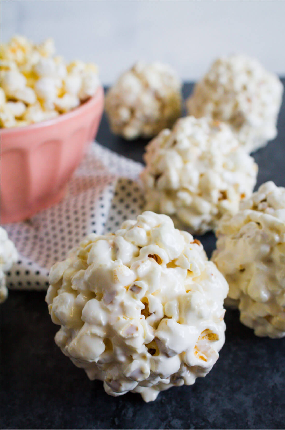 Easy Recipe For Popcorn Balls - you only need a few ingredients to make them! from thirtyhandmadedays.com