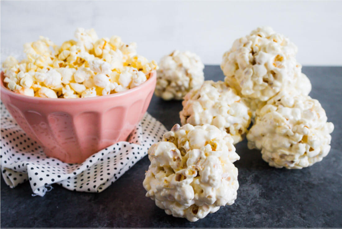 Popcorn Balls Recipe - Thirty Handmade Days