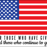 Happy Memorial Day! (printable quote)