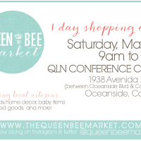 Queen Bee Market in Oceanside, May 4th 2013 9-3pm