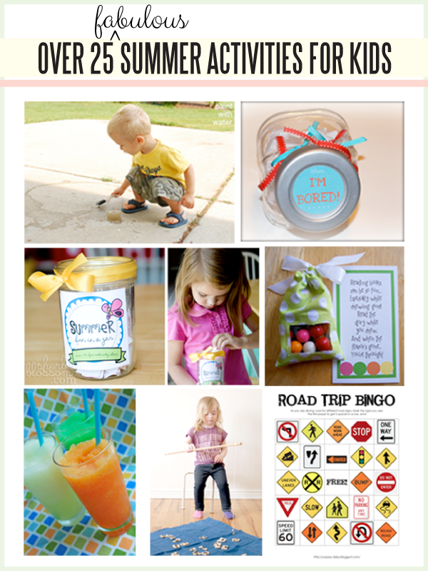 Summer Kids Activities www.thirtyhandmadedays.com