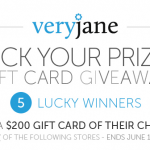Very Jane Giveaway with 5 Winners!!!