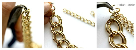 08 Gold Just Chains Necklace Tutorial