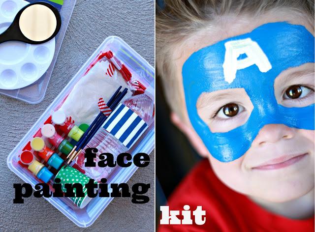 Kids Face Painting Kit