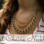 Just Chains Necklace Tutorial www.thirtyhandmadedays.com
