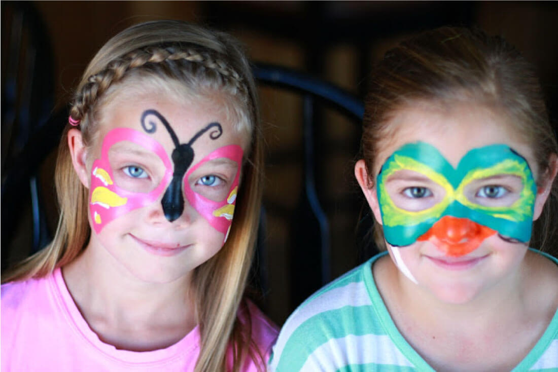 Face Painting Designs for girls