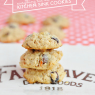 Everything But the…. Kitchen Sink Cookies