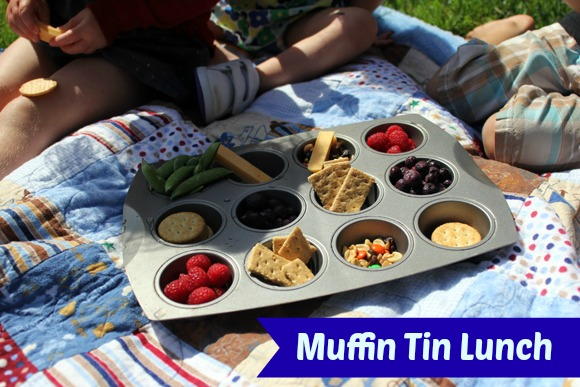 Muffin Tin Lunch from Life Rearranged via www.thirtyhandmadedays.com
