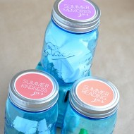 Kids Summer Jar Ideas + Printable
