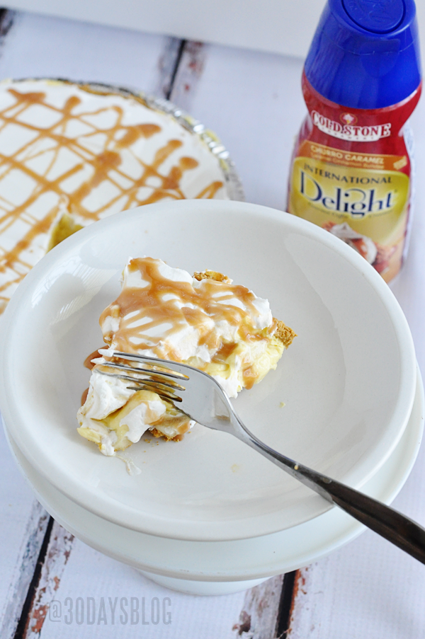 Classic Banana Cream Pie with a Twist www.thirtyhandmadedays.com