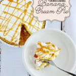 Churro Caramel Banana Cream Pie