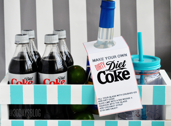 Dirty Diet Coke Kit www.thirtyhandmadedays.com