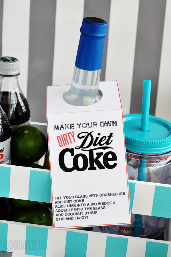 Dirty Diet Coke Kit from www.thirtyhandmadedays.com