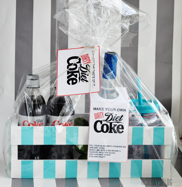Printable Dirty Diet Coke Kit www.thirtyhandmadedays.com