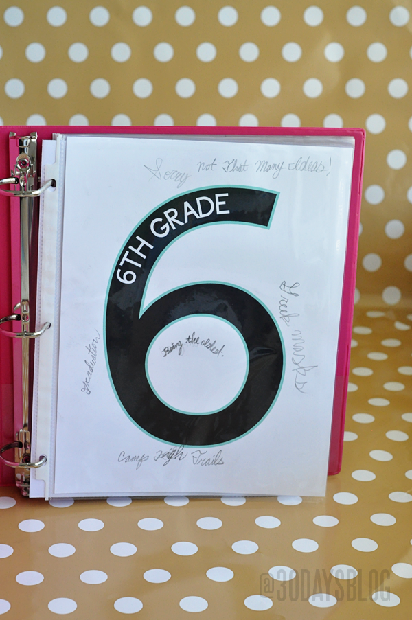 Printable Grades for Back to School www.
