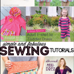 Simple & Fabulous Sewing Projects featured on www.thirtyhandmadedays.com