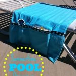 Summertime Pool Organizer Tutorial from Sumo's Sweet Stuff