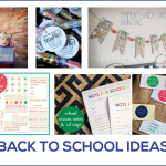 Back to school ideas featured on thirtyhandmadedays.com