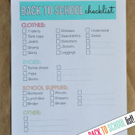 Old Navy- Multiply Your Style + Back to School Printable Checklist