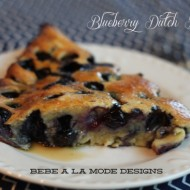 Blueberry Dutch Babies